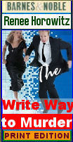 The Write Way to Murder by Renee Horowitz cozy mystery
